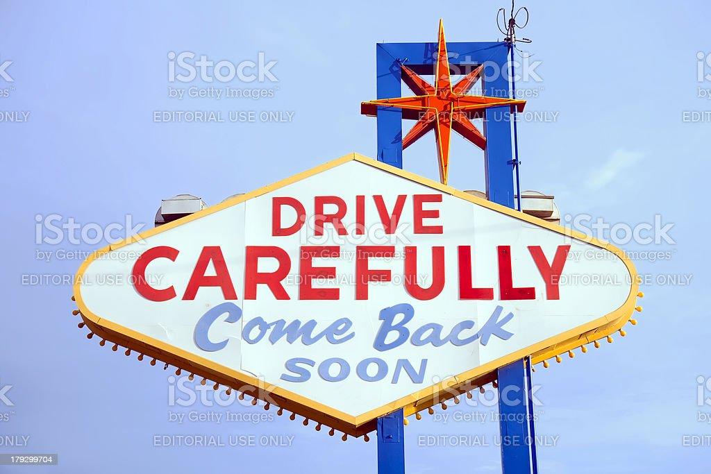 Las Vegas Sign stock photo