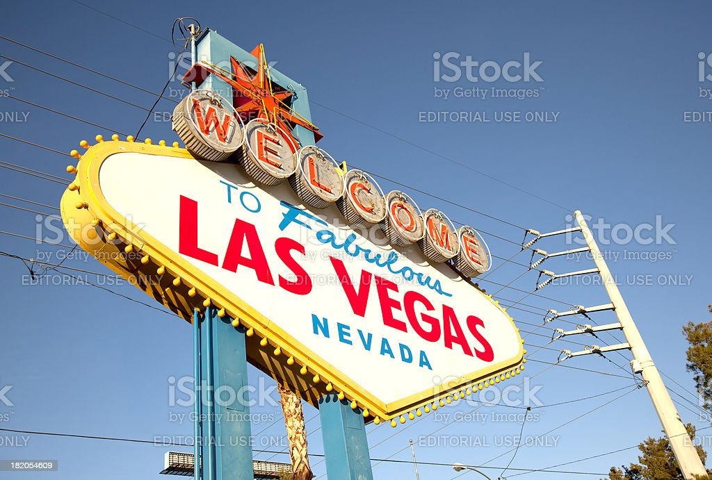 Las Vegas Sign royalty-free stock photo