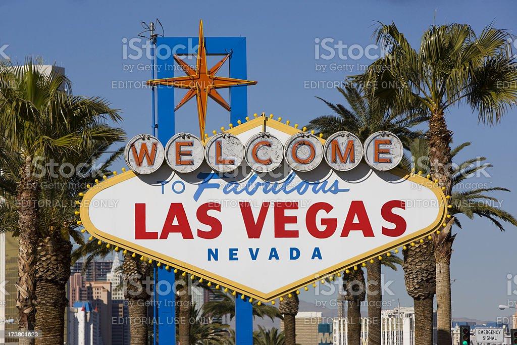 Las Vegas Sign XXXL royalty-free stock photo