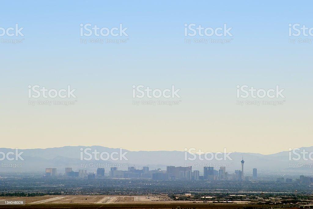 Las Vegas Skyline royalty-free stock photo
