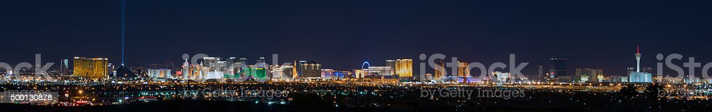 Las Vegas Skyline stock photo