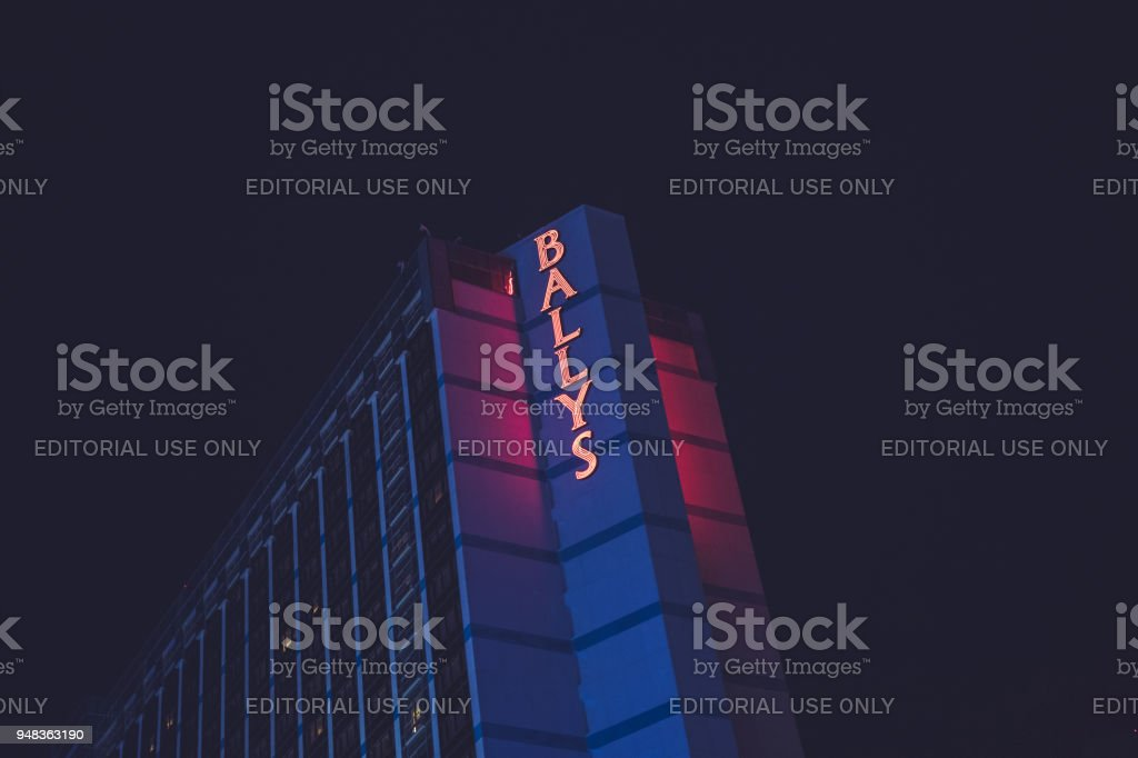 Las Vegas Strip - Ballys stock photo