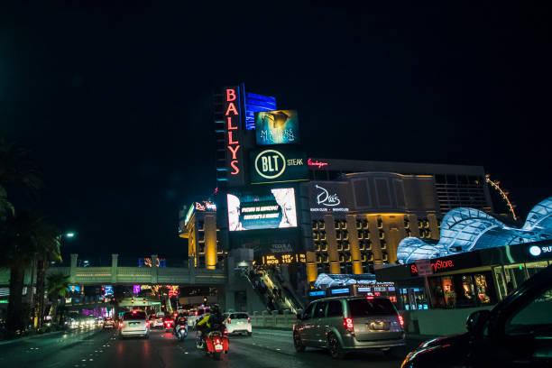 Las Vegas Strip - Ballys stock photo