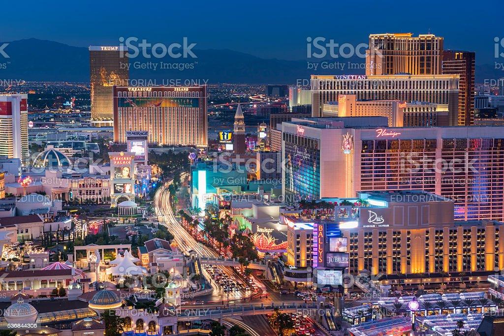 Las Vegas Strip, Las Vegas, USA stock photo
