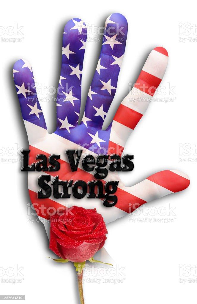 Las Vegas Strong. stock photo