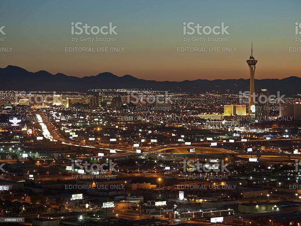 Las Vegas Sunrise royalty-free stock photo