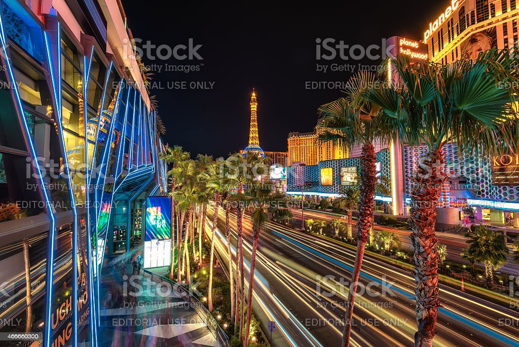Las Vegas, USA - July 12 2014 stock photo