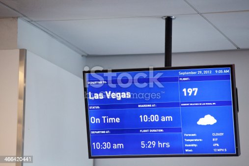 Las Vegas weather report from the airport.
