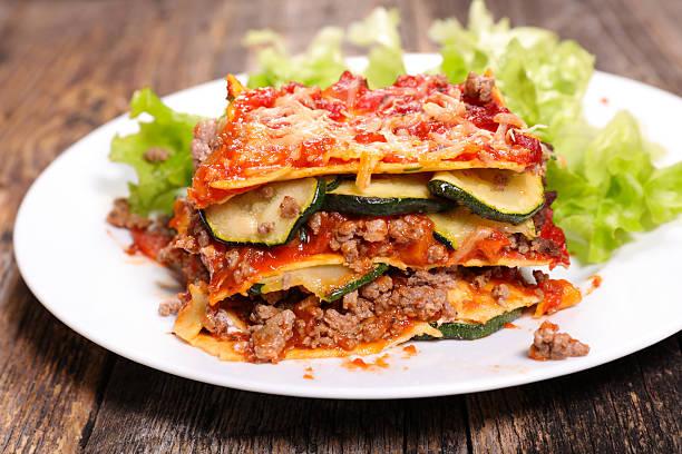 Lasagna and salad picture id514267666?b=1&k=6&m=514267666&s=612x612&w=0&h= b5tofd9neivejd9rdjruxktut ra  sstbaqoodagc=