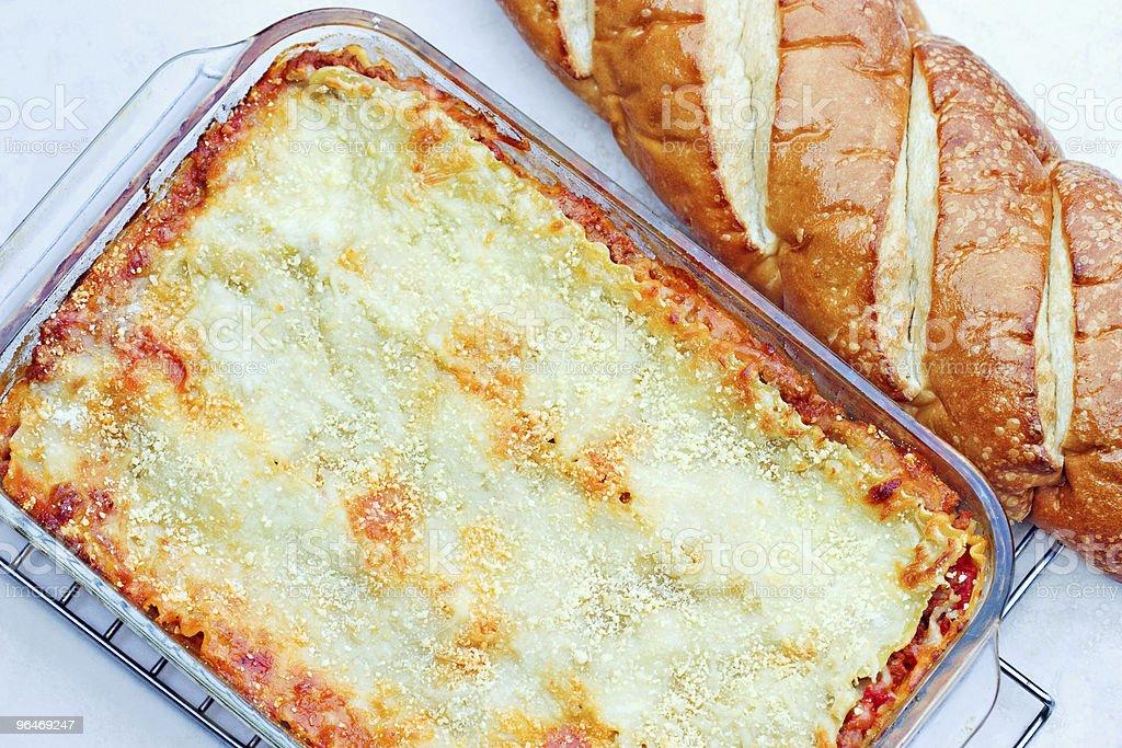 Lasagna Casserole royalty-free stock photo