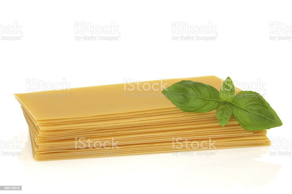Lasagna Pasta royalty-free stock photo