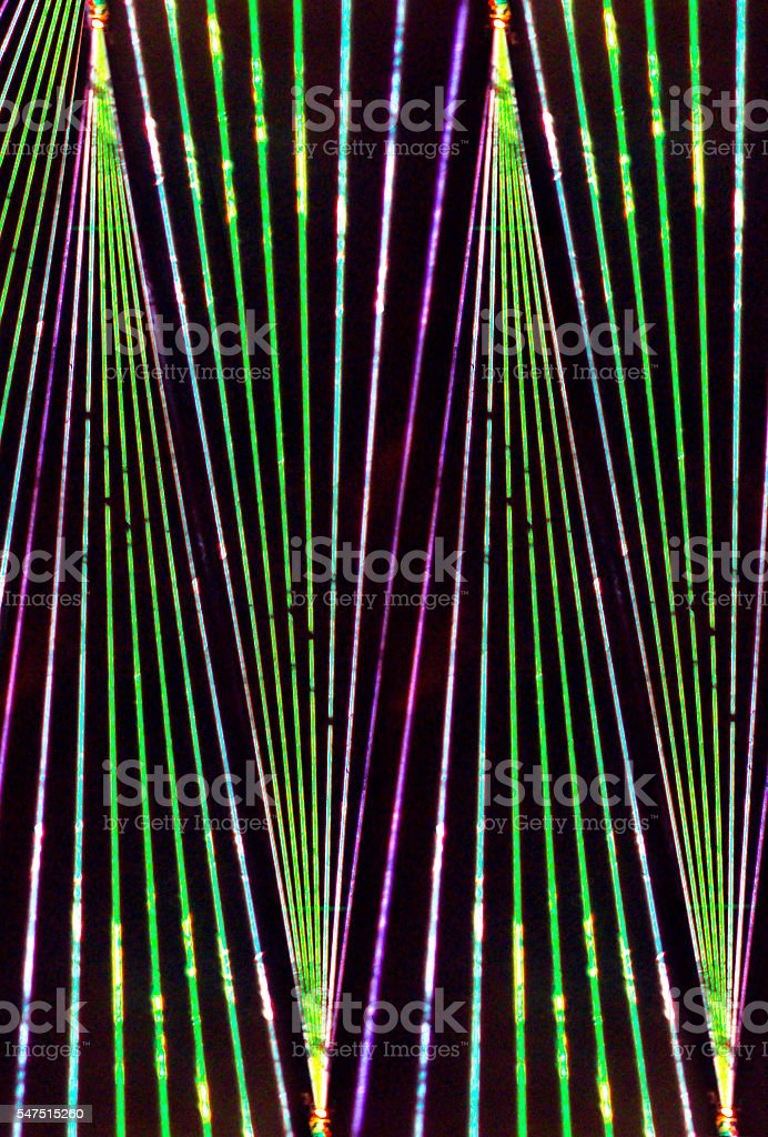 laser beam color stock photo