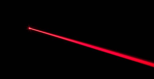 Laser Beam stock photo