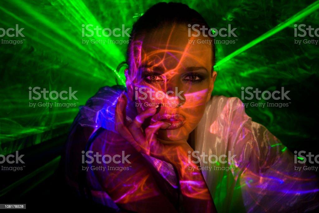 Laser Beauty stock photo