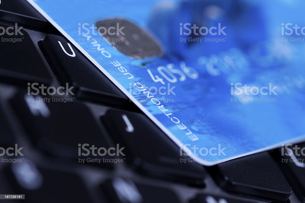 Laser Card royalty-free stock photo