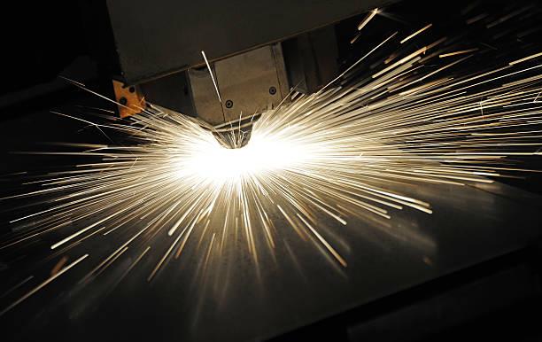 taglio laser - acquaforte foto e immagini stock