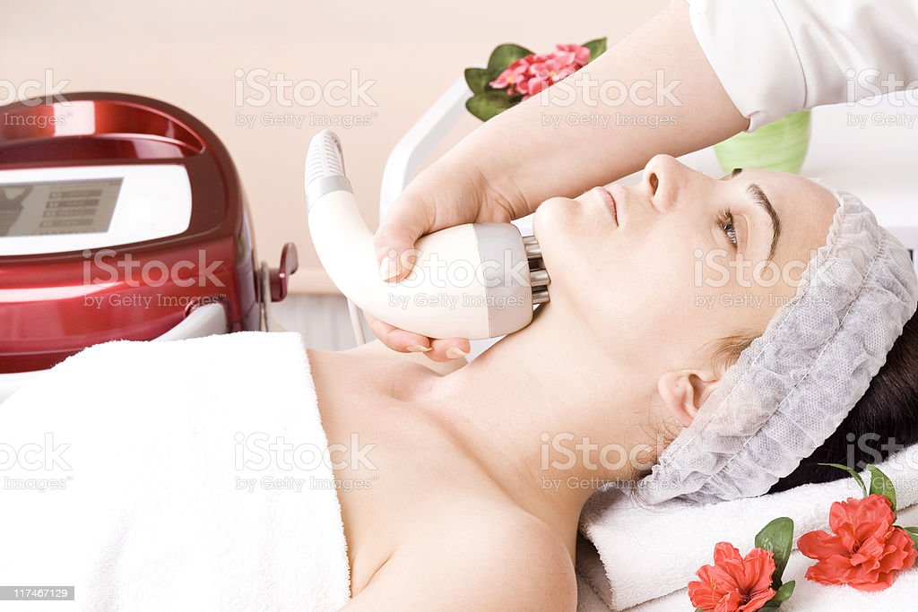 Laser Epilation royalty-free stock photo