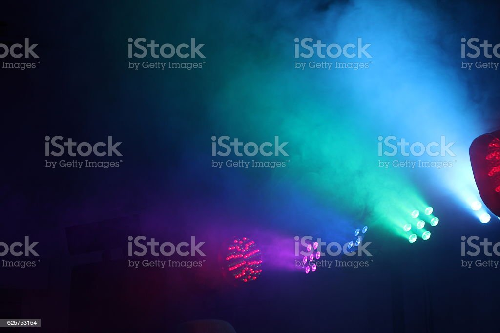 Laser illumination stock photo
