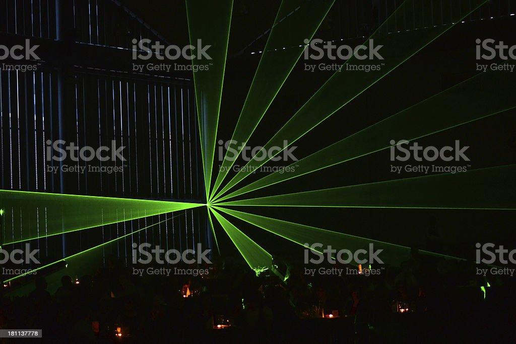 Laser light royalty-free stock photo