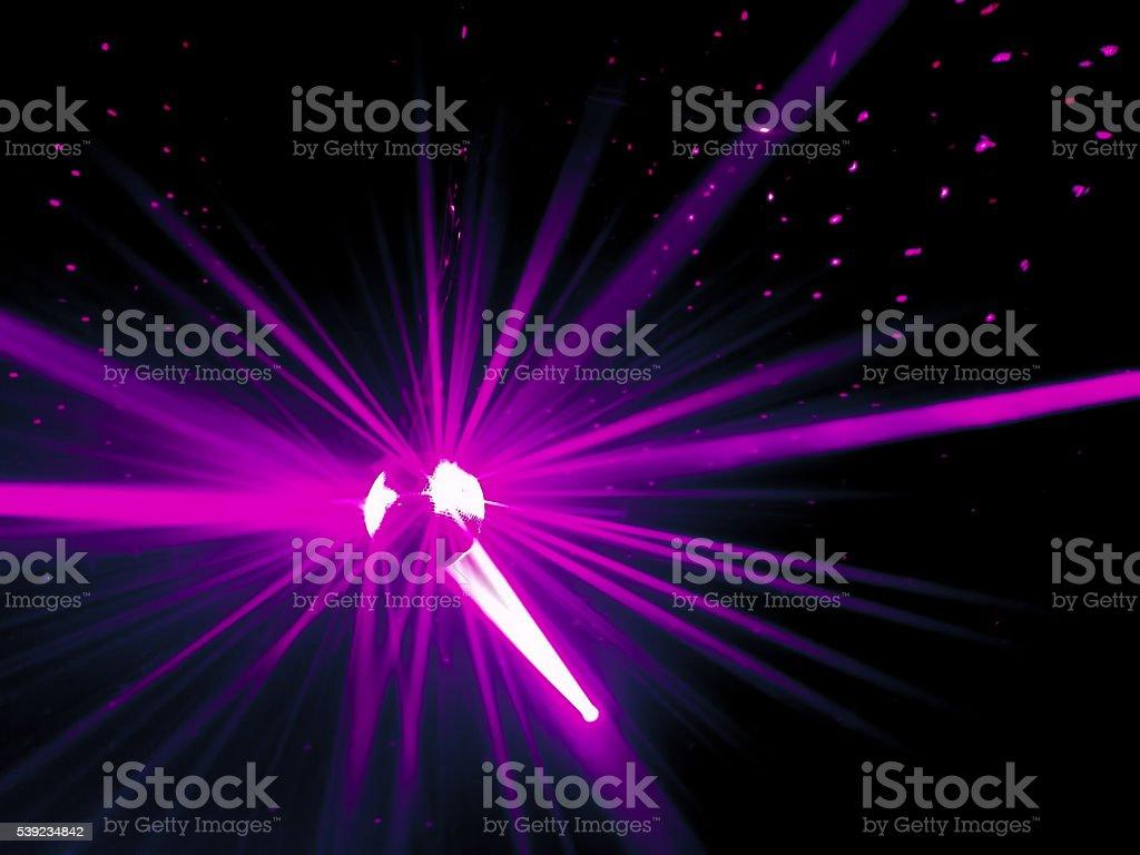 Luzes a Laser foto royalty-free