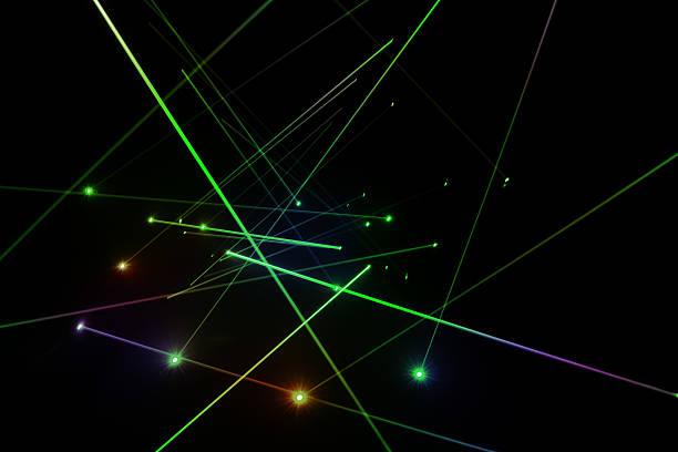 Laser lighting stock photo