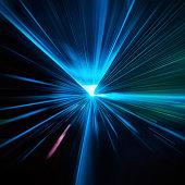 Abstract laser trails perfect for backgrounds