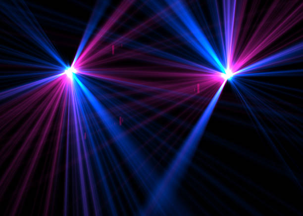 laser lights - disco lights stock pictures, royalty-free photos & images