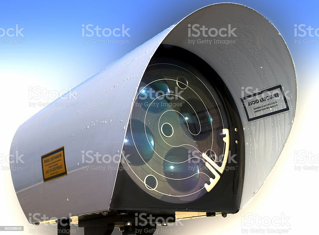 Laser Link royalty-free stock photo