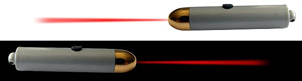 laser pointers stock photo