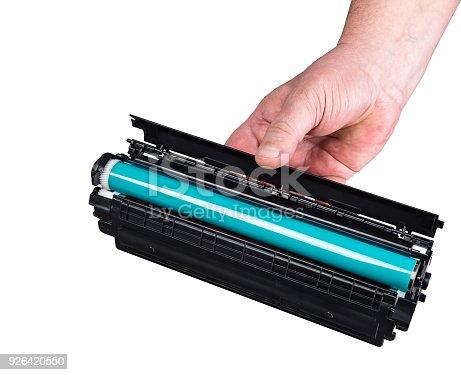 istock Laser printer cartridge 926420550