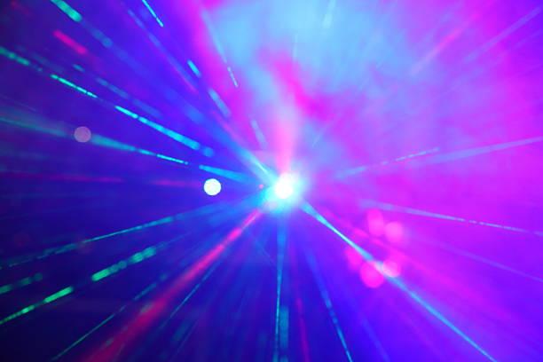 laser rays - disco lights bildbanksfoton och bilder