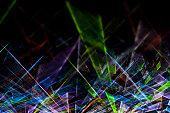 Laser show background