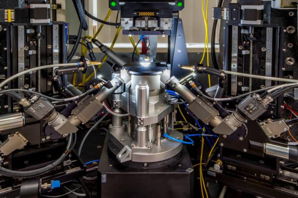 Laser Test Equipment stock photo