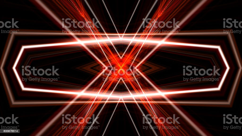 Lasers Kaleidoscope Stage Visual Loop For Concert Night Club Music