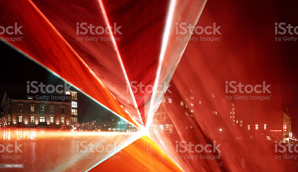 Lasershow Part3 royalty-free stock photo