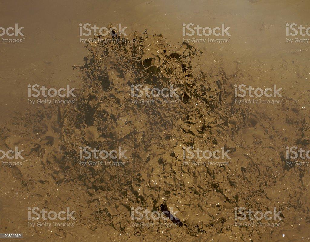Lassen Mud Pit d royalty-free stock photo