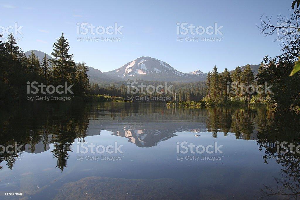 Lassen Peak stock photo