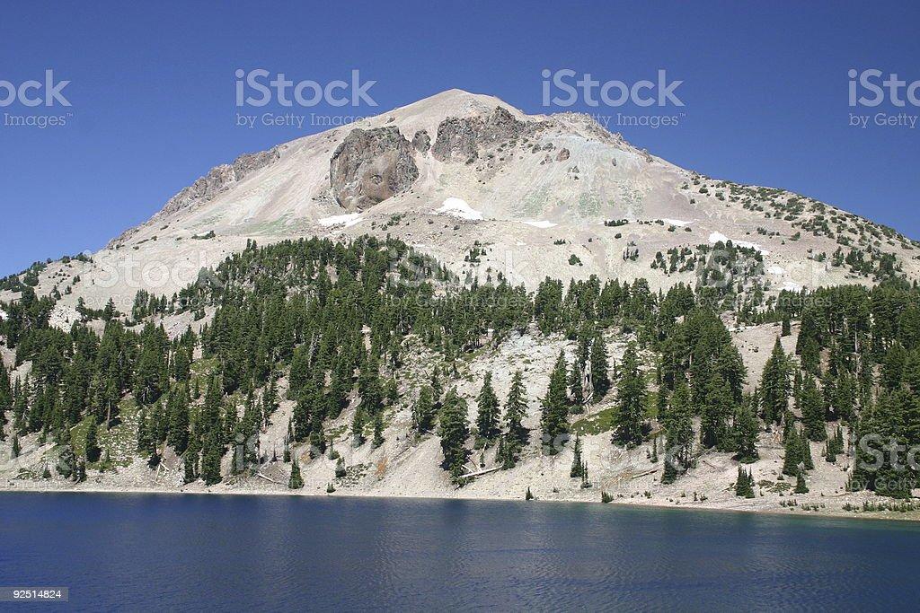 Lassen Peak royalty-free stock photo