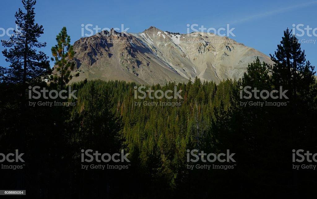 Lassen Peak Rise stock photo