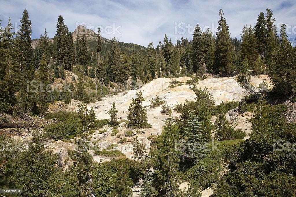 Lassen Volcanic National Park royalty-free stock photo