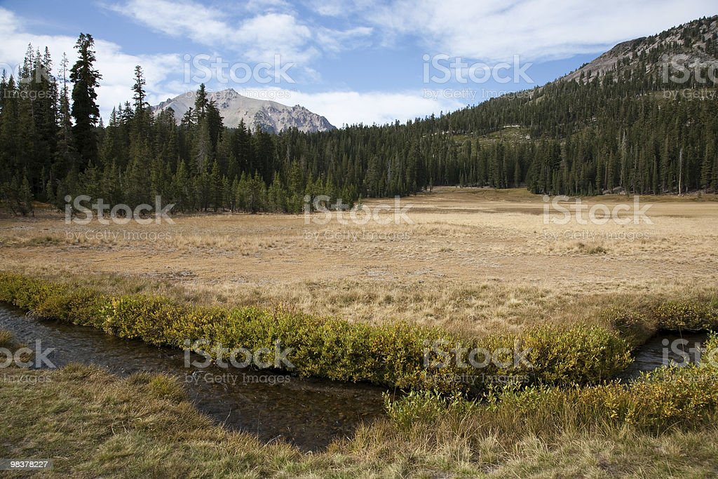 Lassen Volcanic National Park royalty-free stock photo