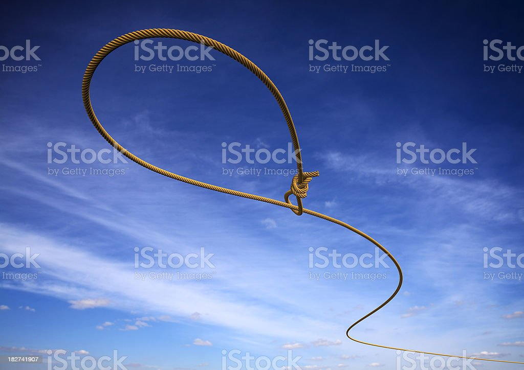 Lasso stock photo