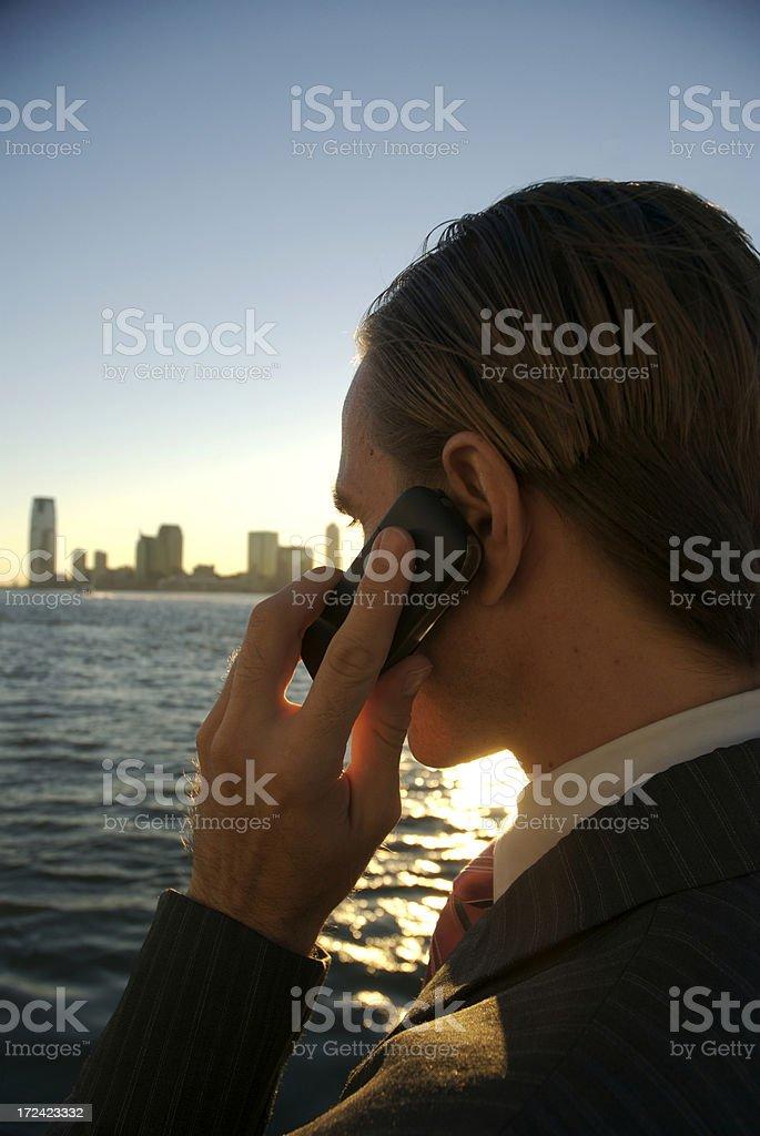 Last Call stock photo