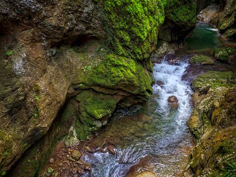 River flowing in Horma Canyon in Kastamonu Province, Turkey