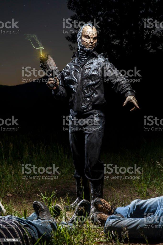 Last Man Standing royalty-free stock photo