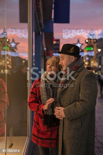 817549606 istock photo Last Minute Christmas Shopping 817552014