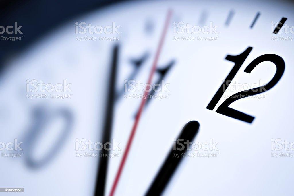 El último minuto - foto de stock