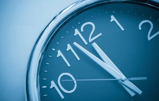 classic chronograph wristwatch close up