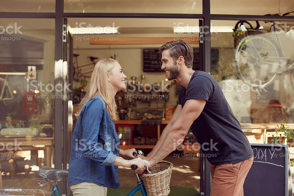 Last one in's a rotten egg! stock photo