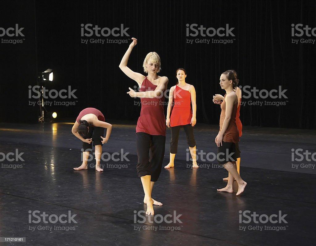 Last rehearsal stock photo